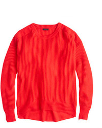 Collection cashmere oversize ribbed sweater medium 124199
