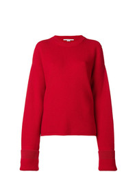 Stella McCartney Cut Out Shoulder Jumper
