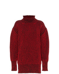 Balenciaga Distressed Rib Jumper