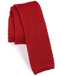Mac Alan 1831 Solid Knit Silk Tie