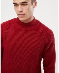 Selected Homme High Neck Knitted Jumper