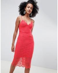 New Look Lace Midi Dress