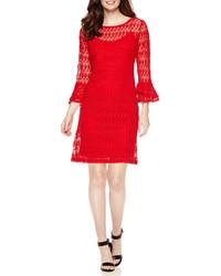 Studio 1 34 Sleeve Lace Sheath Dress