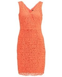 Esprit Viola Shift Dress Coral Orange