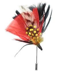 Stacy Adams Feather Lapel Pin
