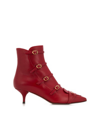 L'Autre Chose Ankle Boot With Strap Detail