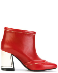 Contrasting covered heel booties medium 5205820