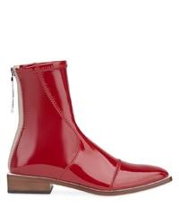 Fendi High Shine Ankle Length Boots