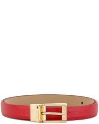 Dolce & Gabbana Classic Thin Belt