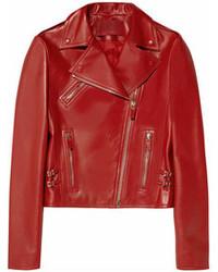 Valentino Cash Rocket Leather Biker Jacket