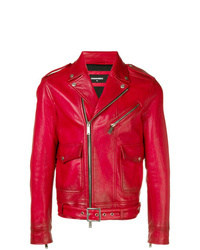 DSQUARED2 Colour Block Biker Jacket