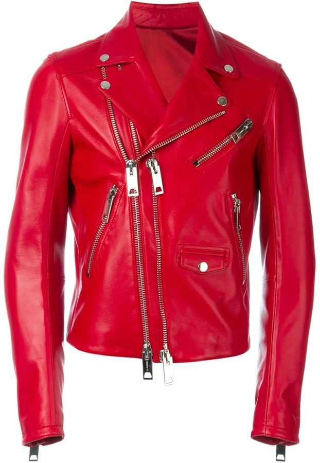 Les Hommes Double Zip Biker Jacket Where To Buy How To Wear