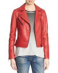 Rag and Bone Rag Bonejean Chrystie Leather Moto Jacket