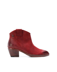 The Last Conspiracy Western Ankle Boots