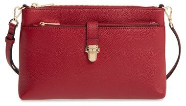 pre order choose authentic half off £158, MICHAEL Michael Kors Michl Michl Kors Large Mercer Leather Crossbody  Bag