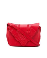 Elena Ghisellini Panelled Flap Handbag