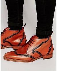 Jeffery West Leather Chukka Boots