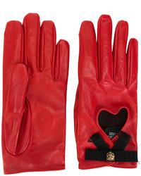 Gucci Heart Gloves