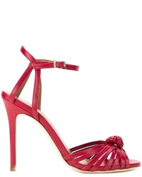 Scanlan Theodore Knot Front Heeled Sandals