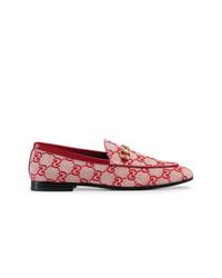 Gucci Jordaan Gg Canvas Loafer