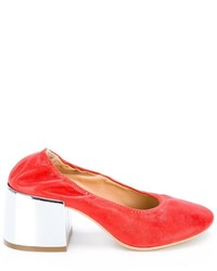 MM6 MAISON MARGIELA Metallic Heel Pumps