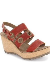 Women's By Fly Uk Sandals Red LondonFashion Lookastic roeWCBxd