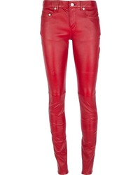 Saint Laurent Skinny Leather Trouser