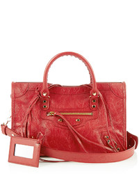 Classic city small leather tote medium 1198565