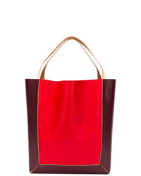 Marni Colourblock Shopper Tote