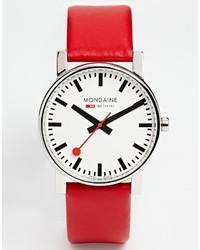 Quartz large evo leather strap watch medium 276802