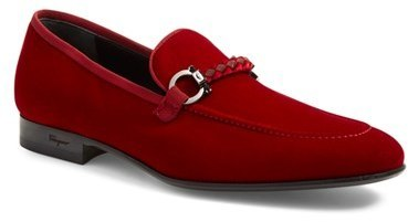 6b05946cfe5 ... Loafers Salvatore Ferragamo Lord Velvet Bit Loafer ...