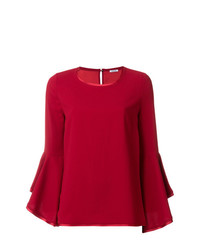 P.A.R.O.S.H. Top With Fluted Sleeve