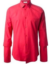Red long sleeve shirt original 361386