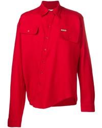 Off-White Asymmetric Twist Shirt