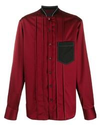 Lanvin Bomber Collar Shirt