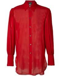 Ann Demeulemeester Oversized Cuffs Shirt