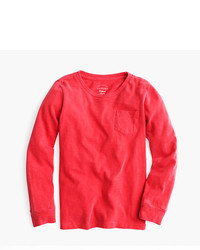 J.Crew Kids Long Sleeve Gart Dyed T Shirt