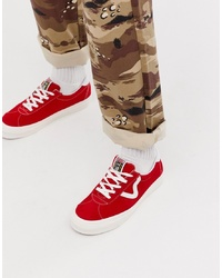 Vans Anaheim Style 73 Trainers In Red