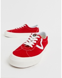 Vans Style 73 Dx Anaheim Archive Red Trainers