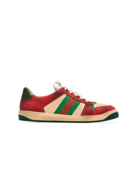 65c85c0cc31 Gucci Men s Red Sneakers from farfetch.com