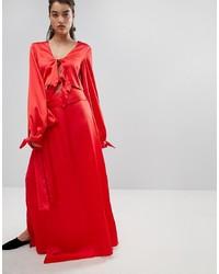 Style Mafia Stylemafia Split Maxi Skirt Co Ord