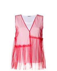P.A.R.O.S.H. Tulle Layer Top