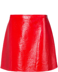 Courreges Courrges Side Zip Mini Skirt