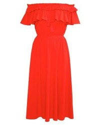 J.Crew Jersey Dress Fiery Sunset