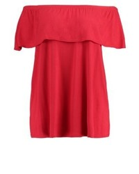 Dorothy Perkins Print T Shirt Red