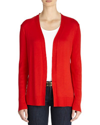Red open cardigan original 9273358