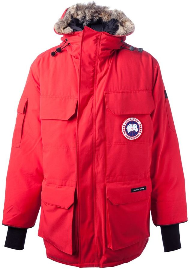 Canada Goose Expedition Parka Rosso