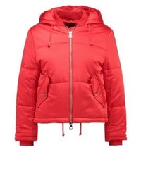 Topshop Matilda Winter Jacket Red