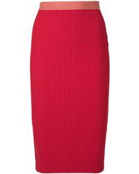 Fendi Pencil Midi Skirt