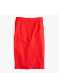 J.Crew Tall Pencil Skirt In Two Way Stretch Cotton